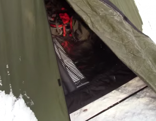 Snugpak Scorpion 2 Tent Overnight Test Winter Camping