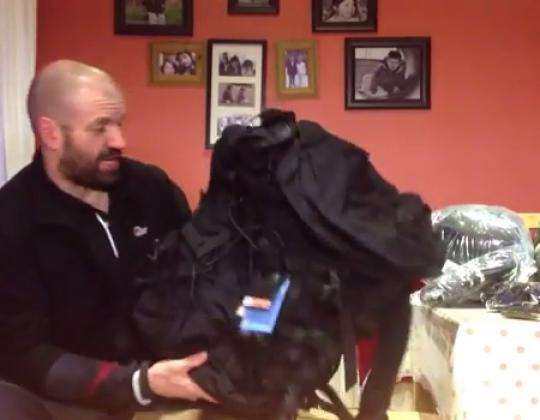 Snugpak unboxing hammock blanket bushcraft blanket sleeping bag and Bergen