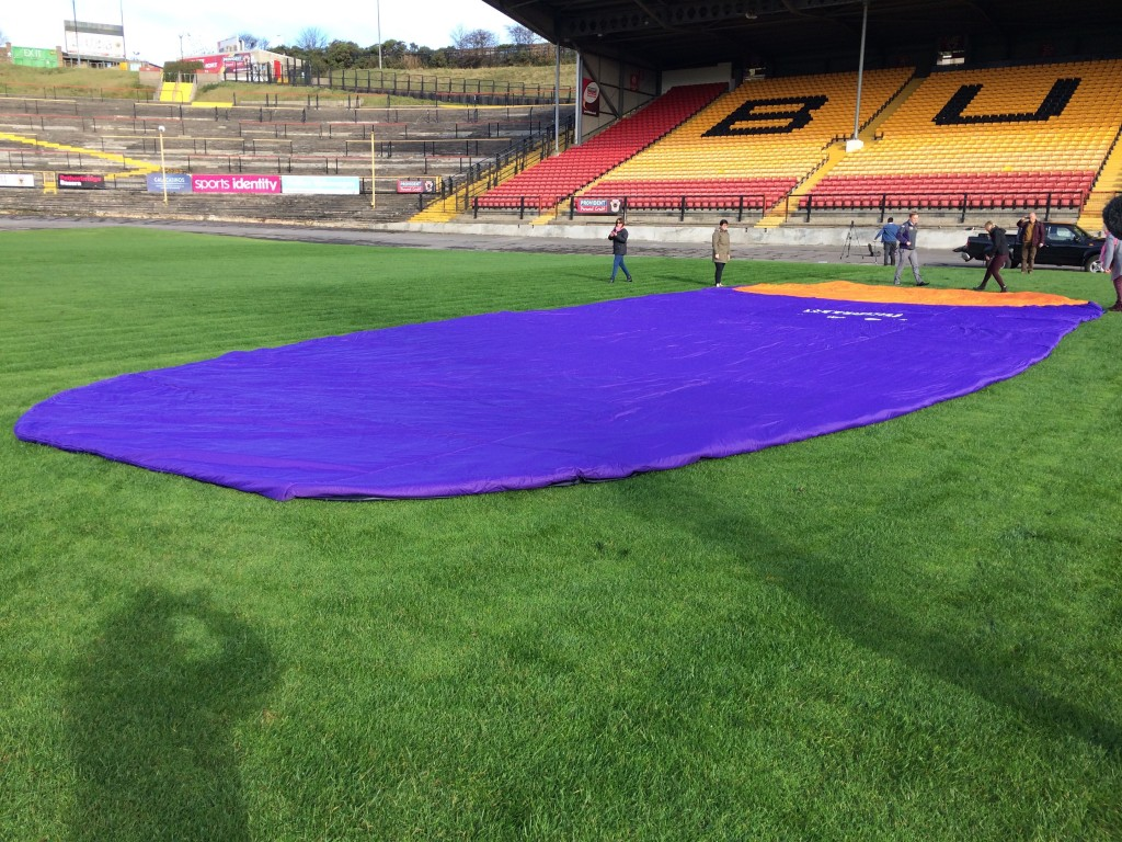 Sleeping Bag at bradford Bulls