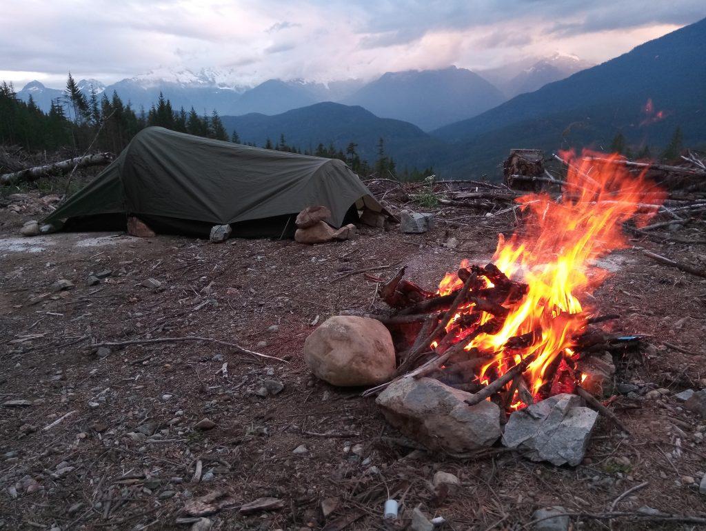 patagonia camp setup